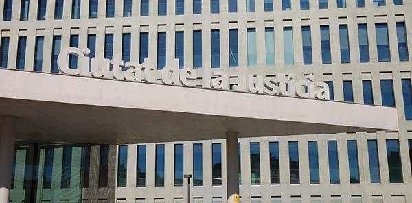 Juzgados de Lo Mercantil de Barcelona Ciudad de la Justicia